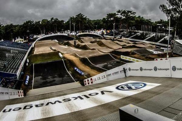 La piste de Zolder en configuration Championnats du Monde