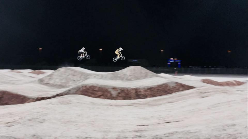 La Lettonie teste la piste de Baku