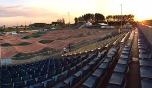 Calais BMX, nouvelle piste de BMX rue Jean Rostand