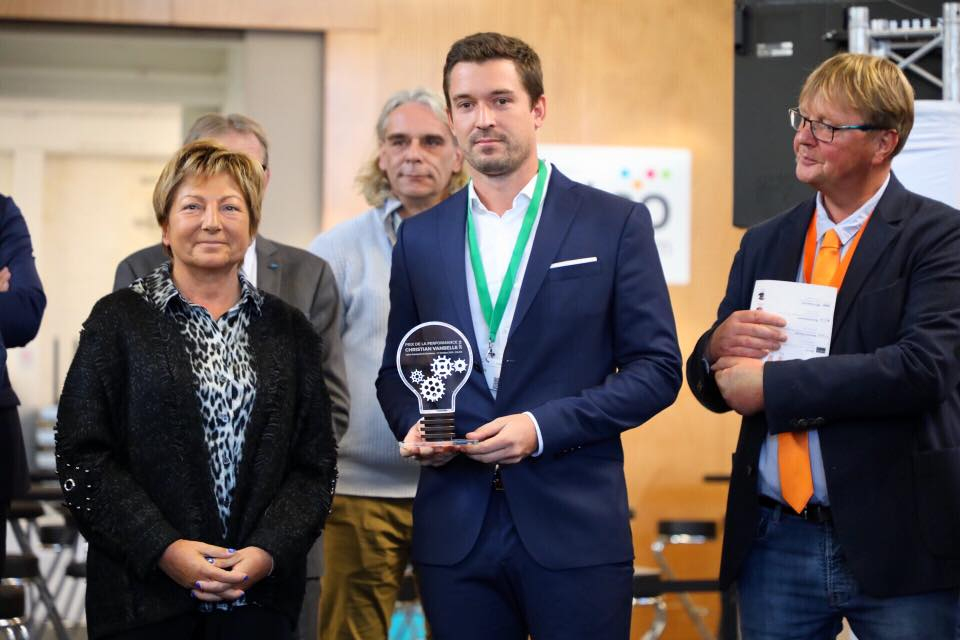 Thomas Hamon et Natacha Bouchart, Prix Christian Vanbelle 2018