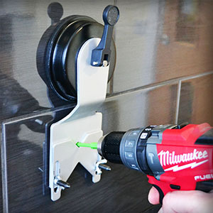 how to drill porcelain tiles protrade