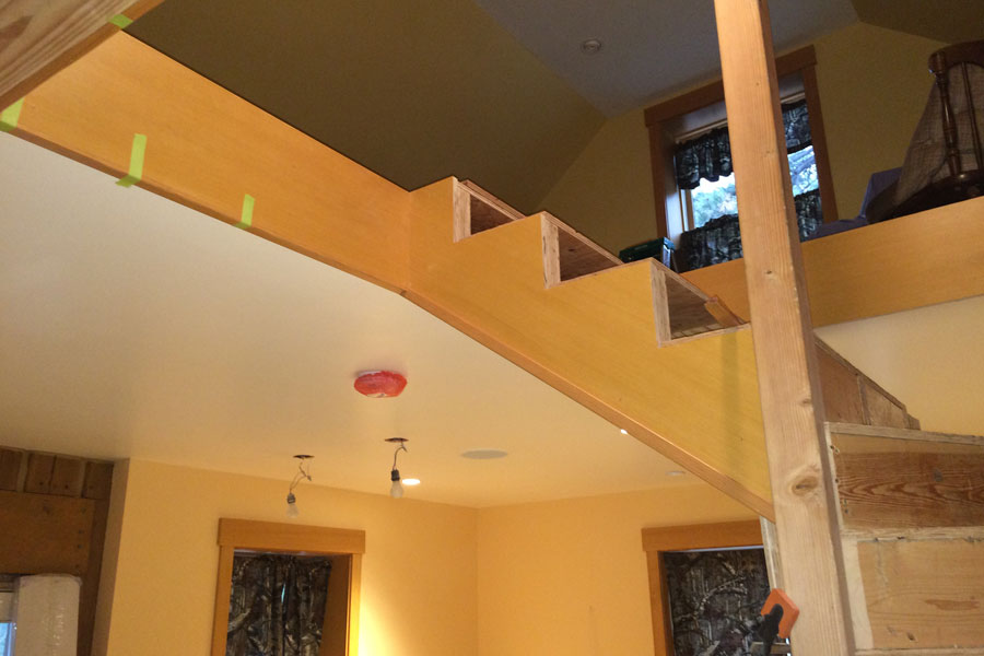 stair trim out 3