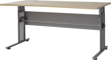 Schreibtisch Ergonomisch Geformt Hohenverstellbar 0650 42