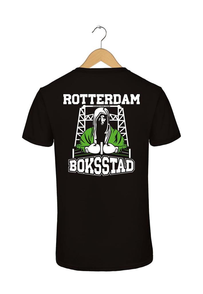 "Rotterdam T-shirt ""Rotterdam Boksstad"""