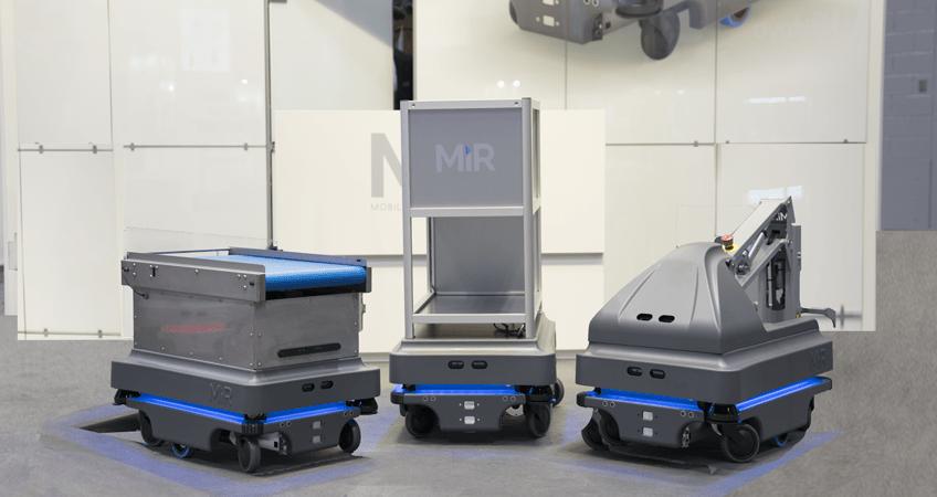 MiR200 mobile industrial robots