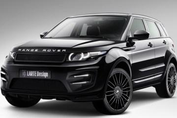 range rover evoque larte styling