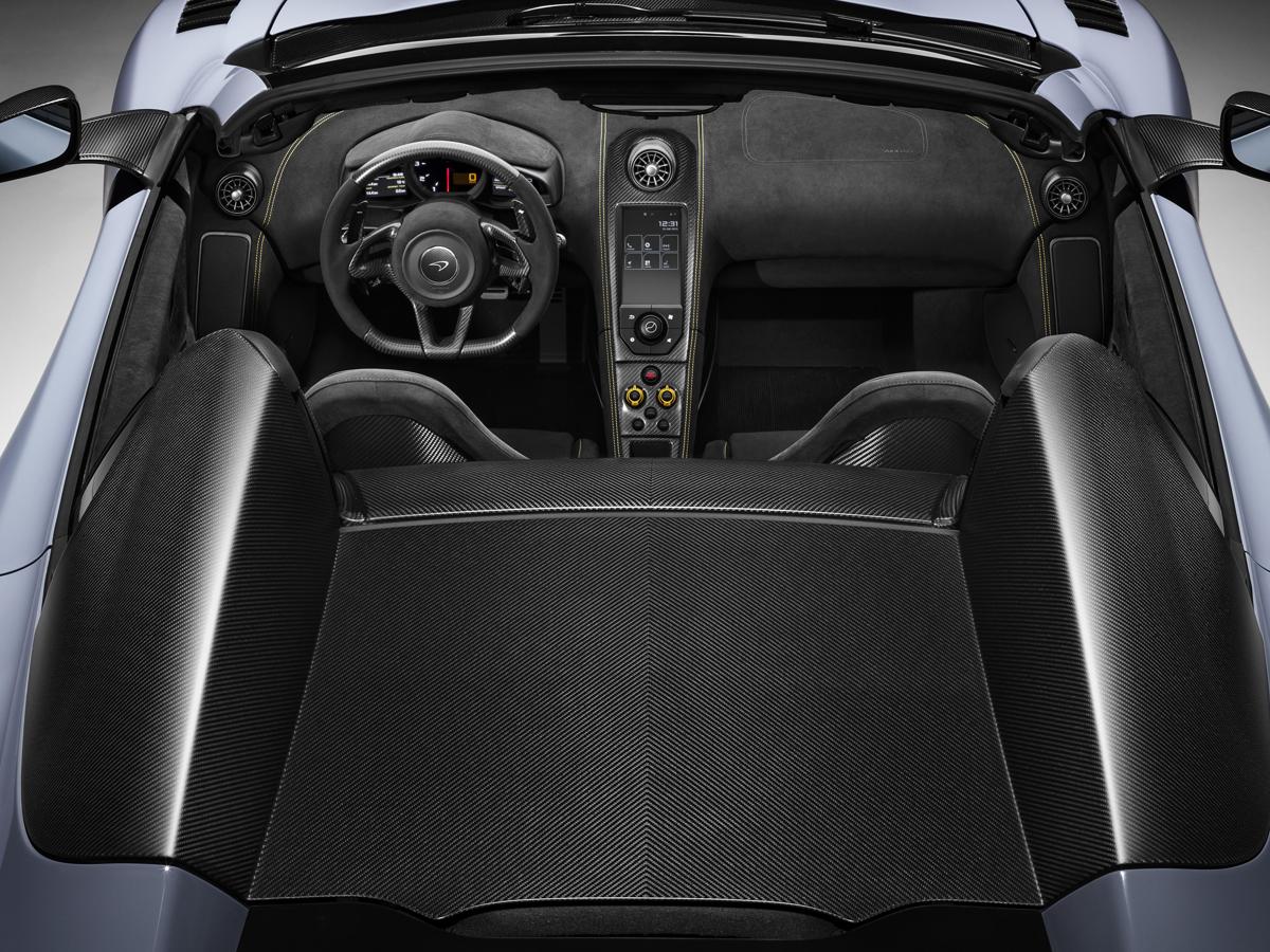 mclaren 675lt spider sportwagen neuheiten autosalon genf 2016