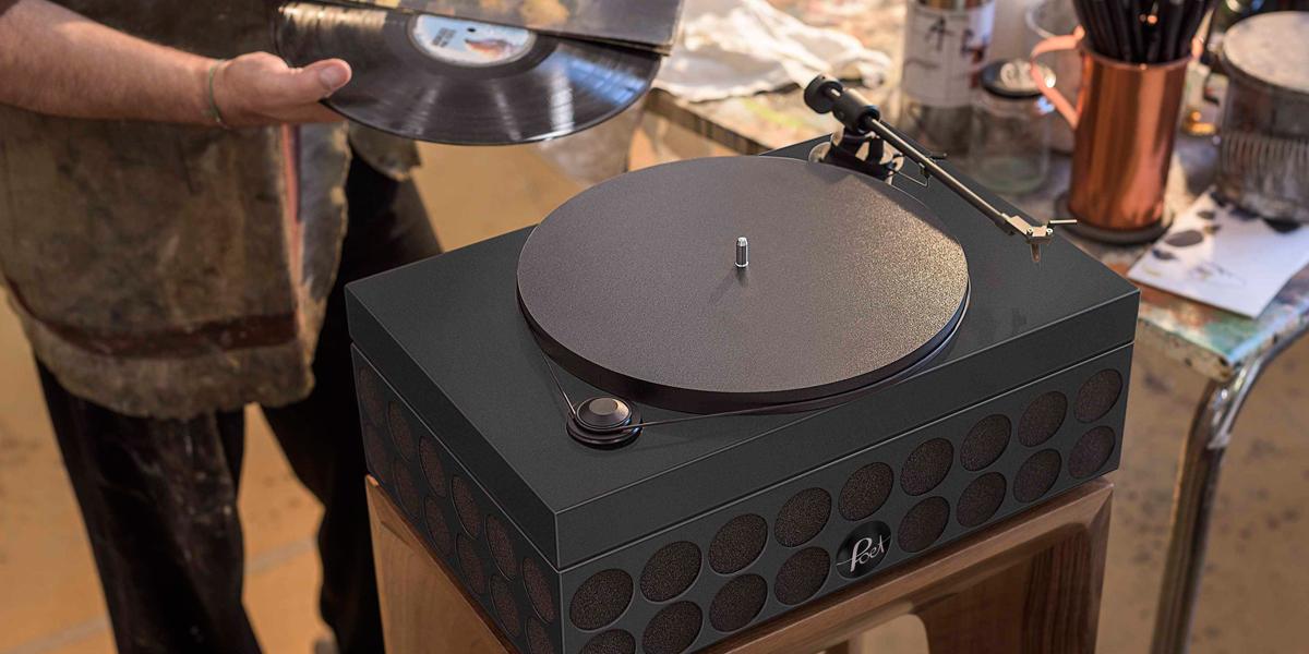 soundsystem high-end hifi plattenspieler lautsprecher schallplatte