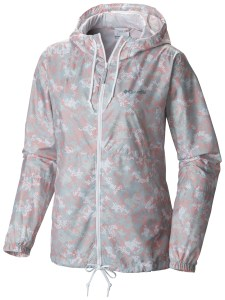 KL3013 Flash Forward Printed Windbreaker für Frauen.