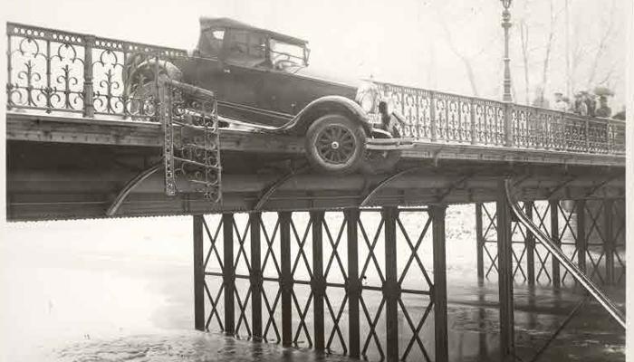 autounfall autounfälle historisch vergangenheit spektakuläre unfälle