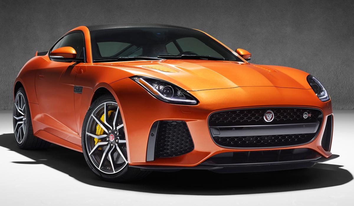 jaguar f type svr sportwagen neuheit neuheiten modelle modell