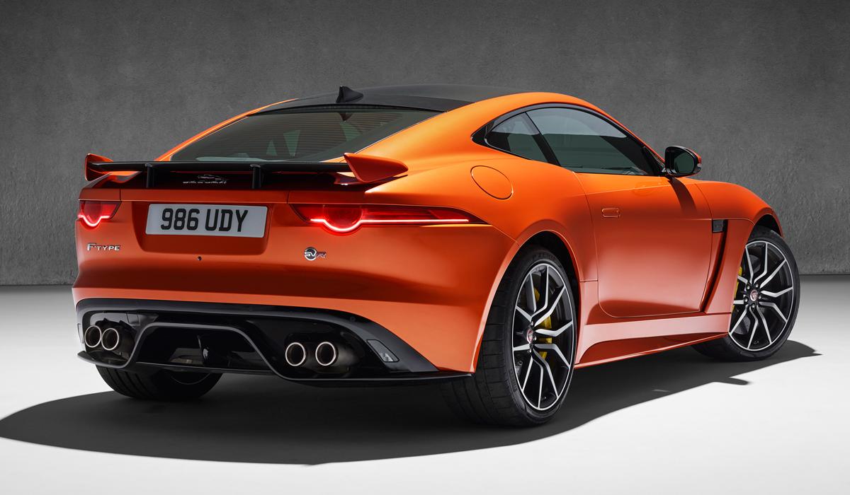 jaguar f type svr sportwagen neuheit neuheiten neue modelle