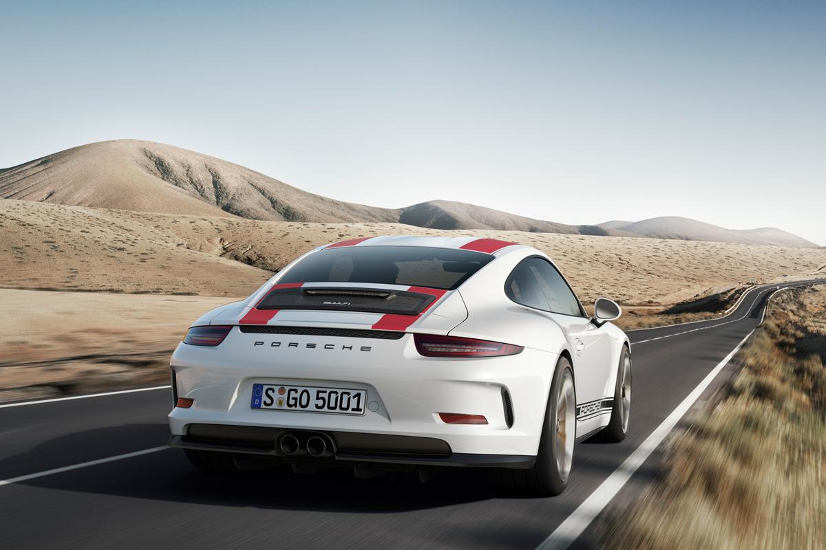 porsche 911 r limitiertes sondermodell neuheit neues modell autosalon genf 2016