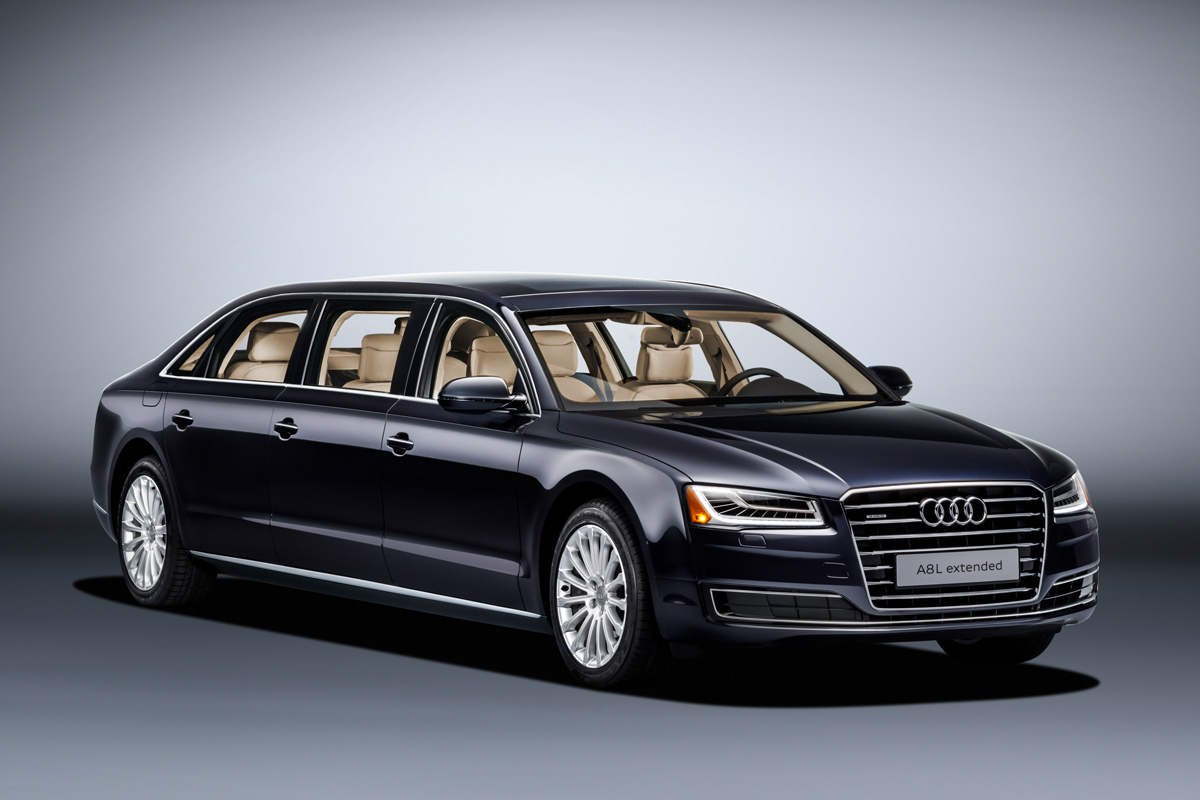 die premium limousine audi a8 l extended. Black Bedroom Furniture Sets. Home Design Ideas
