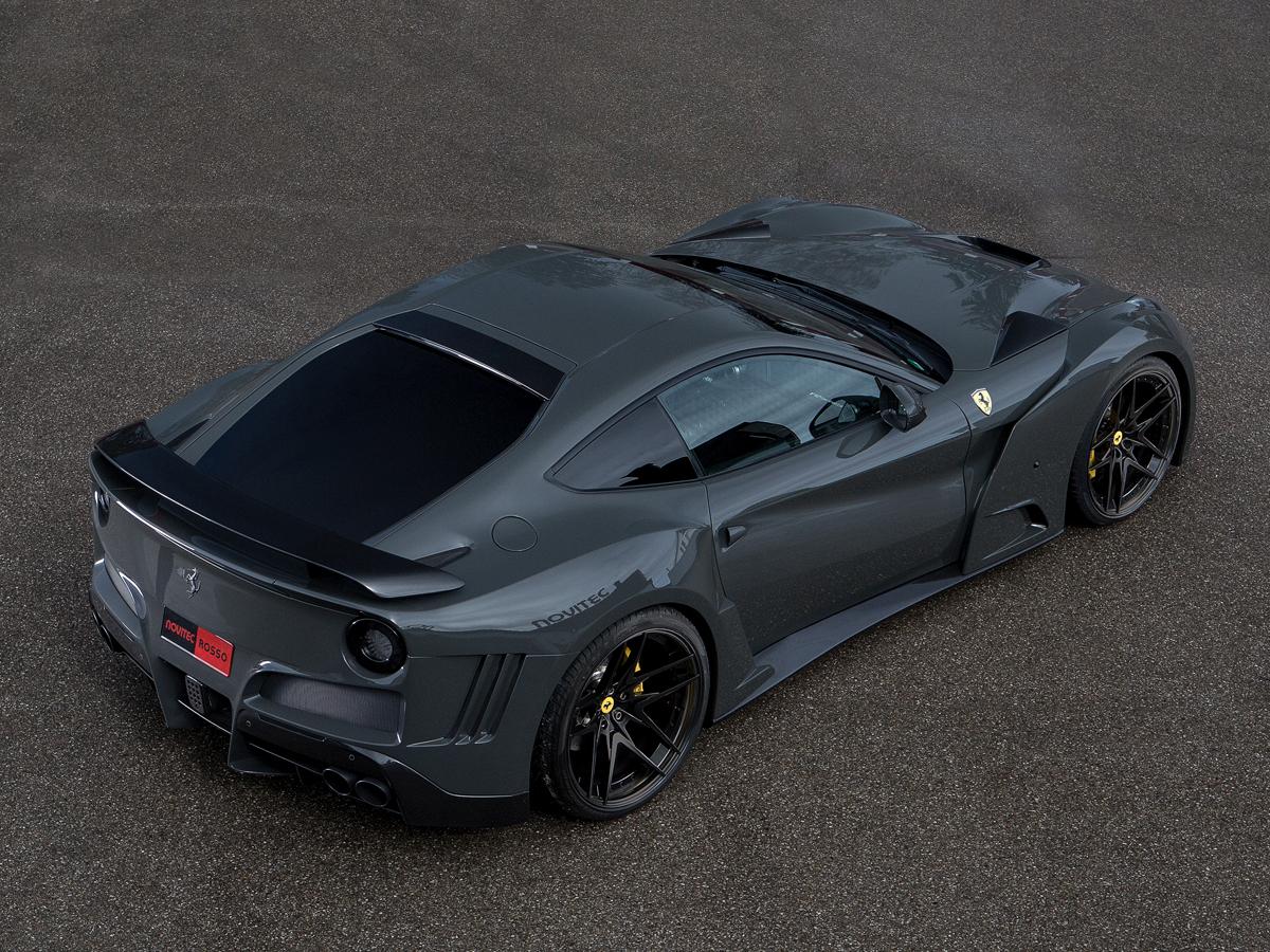 novitec rosso ferrari f12berlinetta limitiert limited bodykit carbon