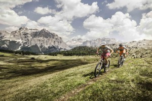 HANDOUT - Mountain Bike in Alta Badia. (PHOTOPRESS/Alta Badia/Manuel Sulzer)
