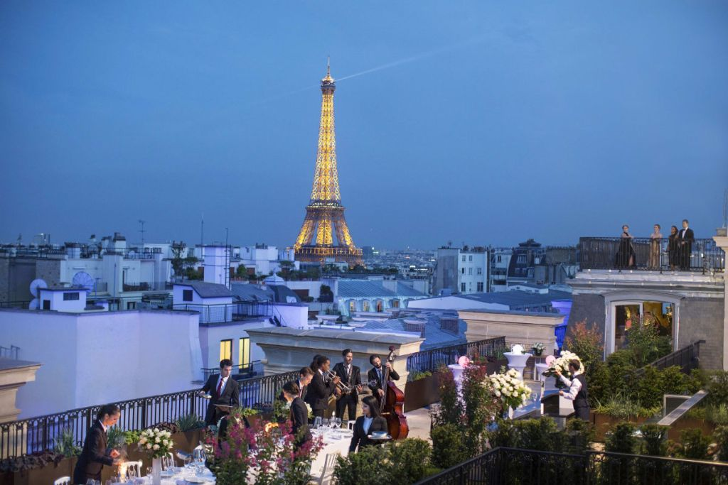 Dachterrasse, The Peninsula Paris