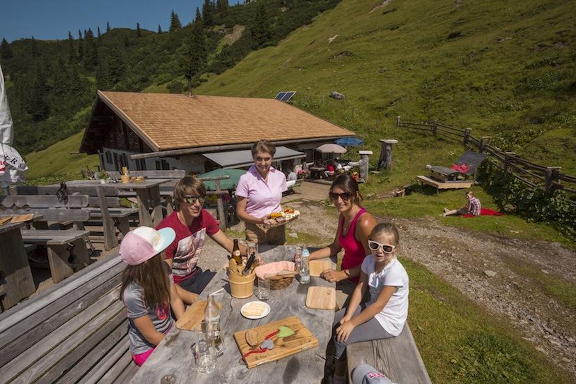 Wandern mit Einkehr mit Hotel Alpenhof©Fotodesign David