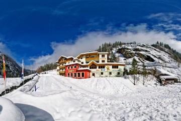 Kinderhotel Benjamin im Winter