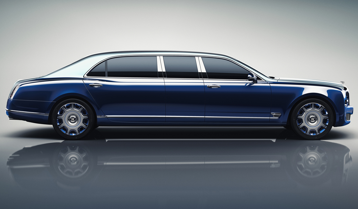 bentley mulsanne grand limousine mulliner luxus luxuslimousine modell modelle