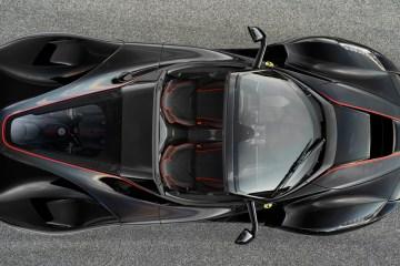 ferrari laferrari cabrio cabriolet limitiert sonderserie carbon v12 autosalon paris