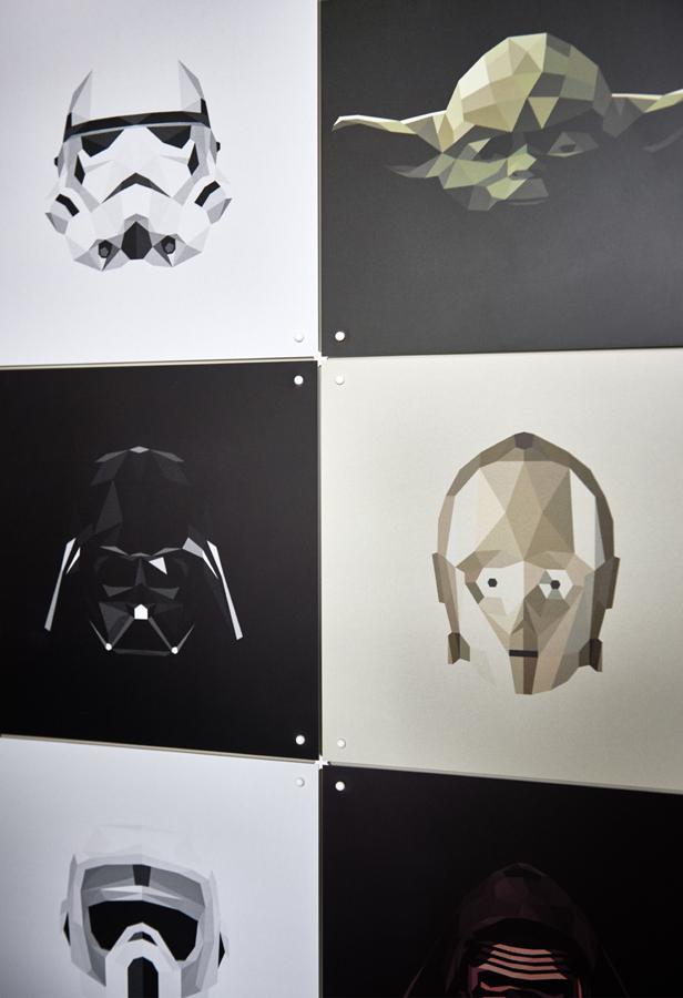 Wunschgröße maßgefertigt Wanddeko Collage IXXI