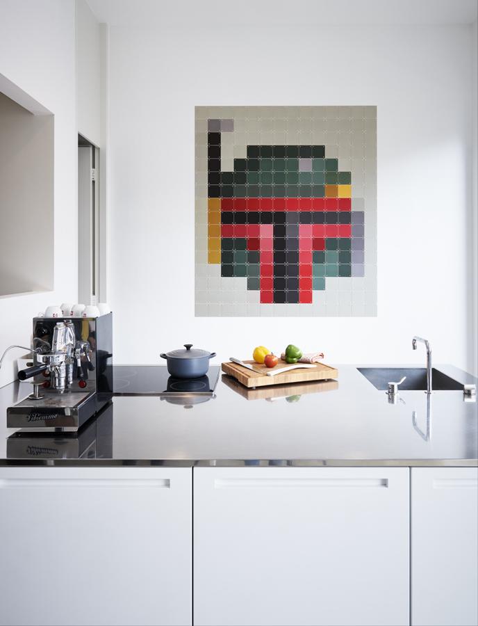 Bobafett Starwars Küche Wanddekoration IXXI