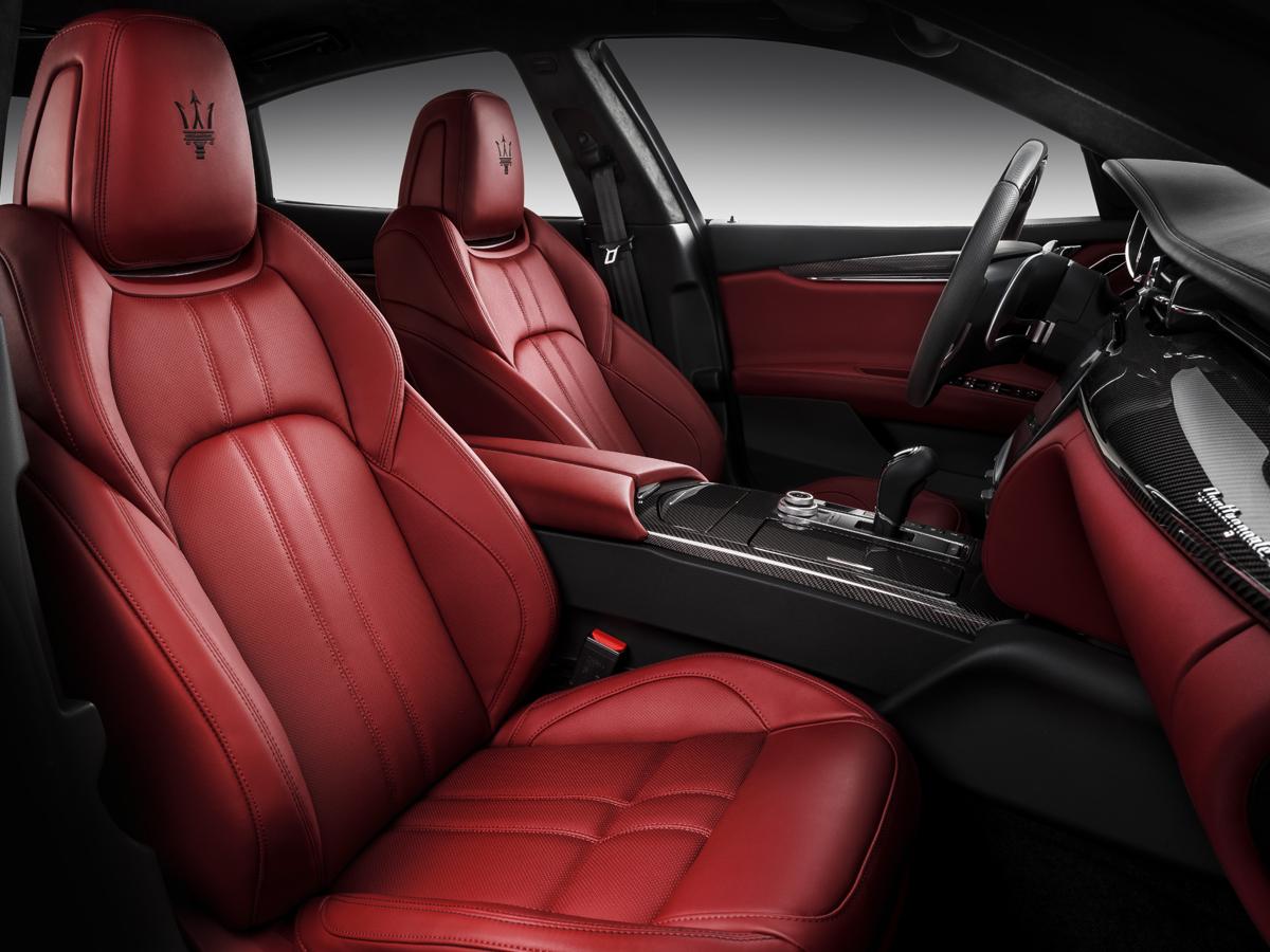 maserati sportlimousine limousinen luxuslimousinen sportlimousine innenraum