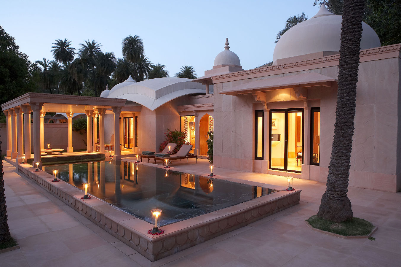 Amanbagh in Rajasthan, Indien