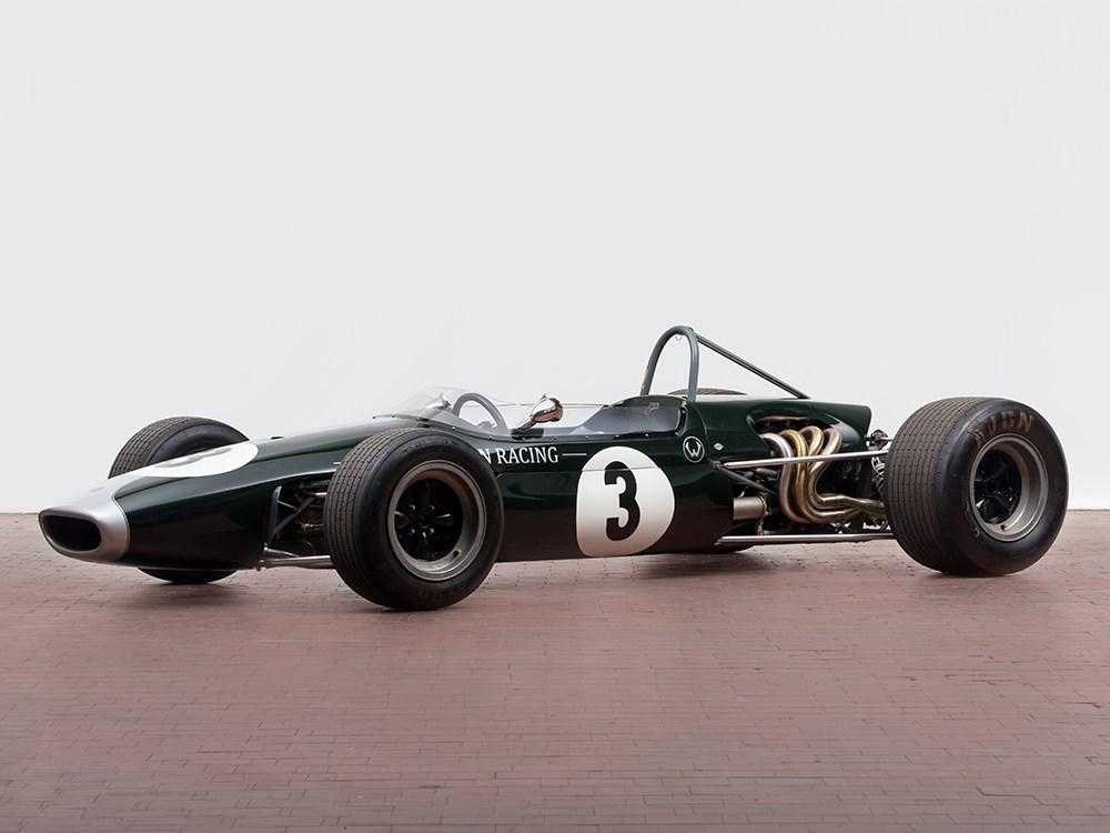 Auctionata_Brabham BT23, Formel-2 Rennwagen von Jochen Rindt, Baujahr 1967