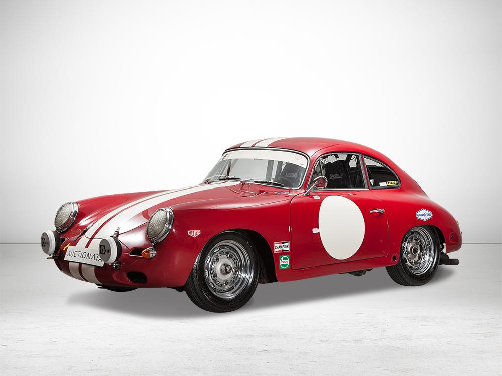 Auctionata_Porsche 356B T5 CUP, Bernauer Motor und Halda Twinmaster, 1960