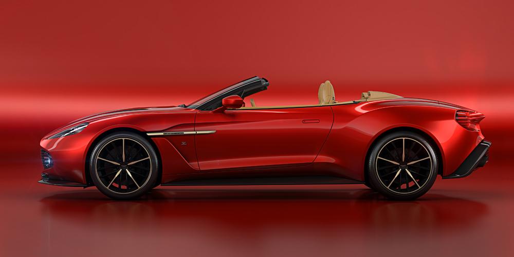 aston martin vanquish zagato volante sportwagen cabrio cabriolet limitiert sonderedition neuheit