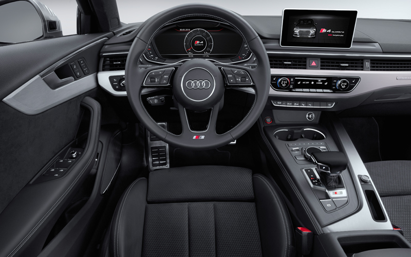 audi s4 s4-avant modelle s-modelle modell premium oberklasse benzin turbo verbrauch innenraum