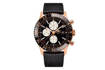 breitling luxusuhr luxusuhren golduhren schweizer schweiz swiss made chronoliner limitiert