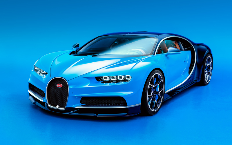 bugatti chiron luxus sportwagen supersportwagen topspeed weltrekord
