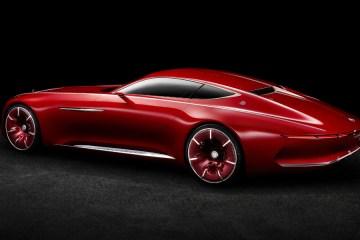 mercedes-benz mercedes maybach 6 designstudie automobile luxusklasse coupe elektroauto zukunftsvision neuheit innovation