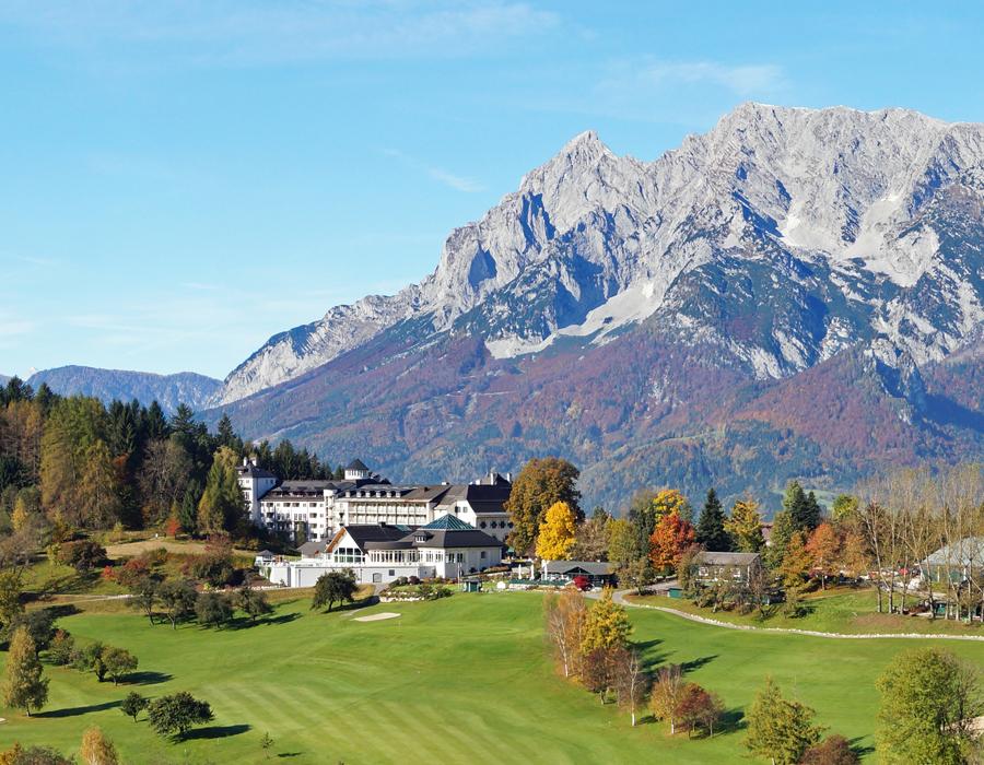 golfurlaub golfferien österreich luxushotel fünfsterne hotel wellness schloss urlaub schlosshotel