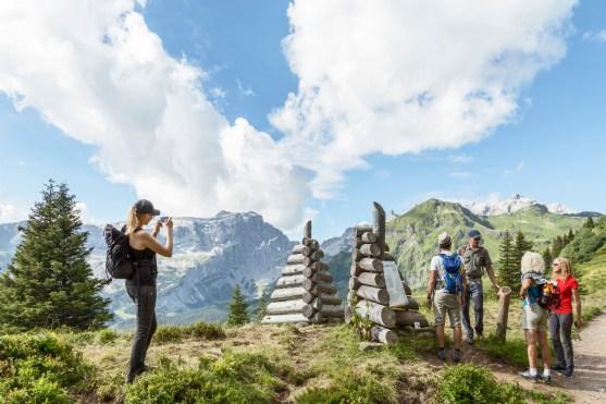 Das Eingangstor - Gauertaler AlpkulTour (c) Montafon Tourismus GmbH, Schruns - Andreas Haller