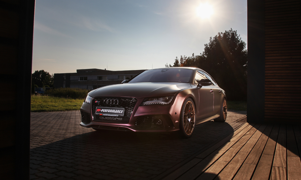 audi rs7 tuning tuner veredelung veredelt chiptuning pp-performance folierung umbauten