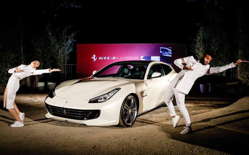 ferrari gtc4lusso modell modelle neu neue neuheit viersitzer deutschland v12
