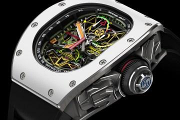 richard mille tourbillon chronograph limitiert limitierte uhr uhren luxusuhren