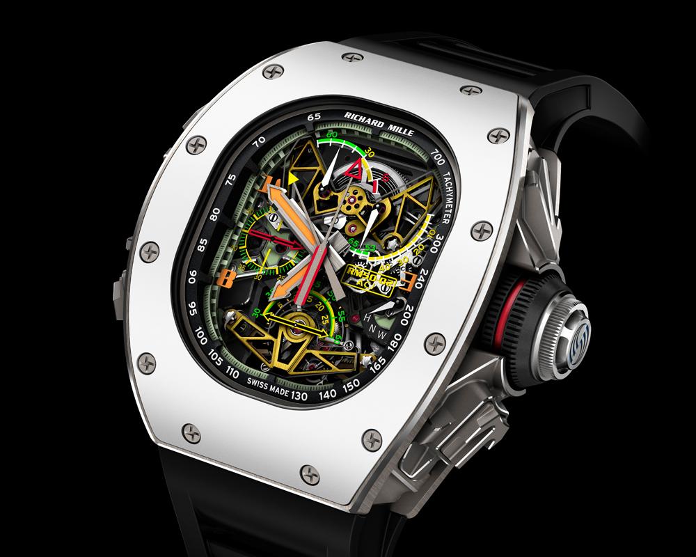 richard mille tourbillon chronograph limitiert limitierte uhr uhren luxus-uhren luxus