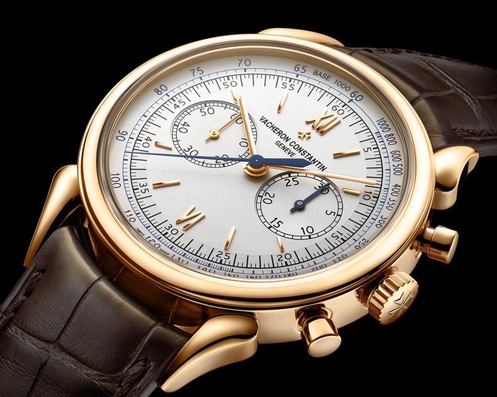 vacheron constantin modelle kollektion neuheiten neuheit modell chronograph chronographen roségold golduhren