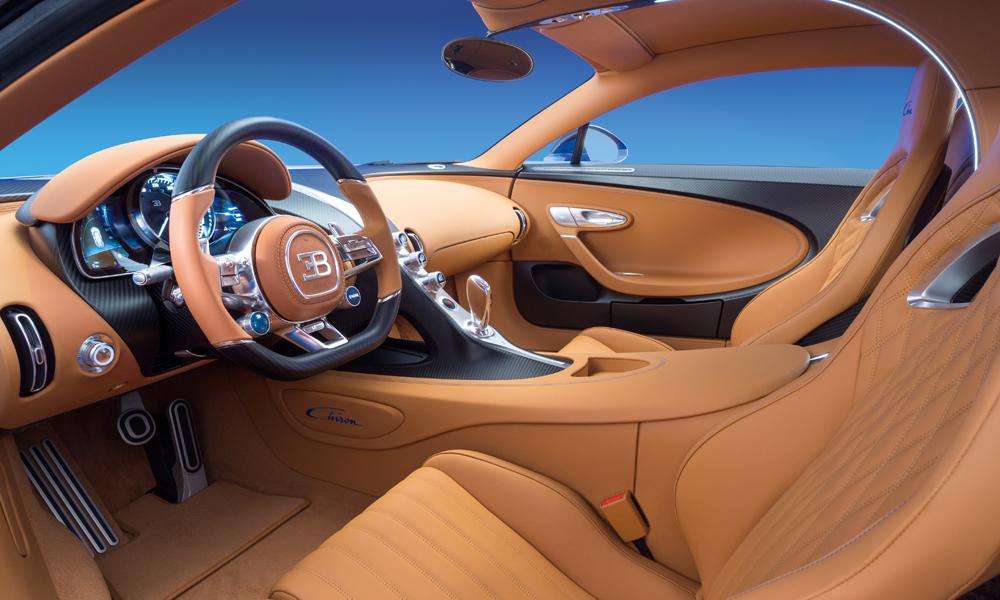 bugatti chiron sportwagen modell modelle supersportwagen innenraum