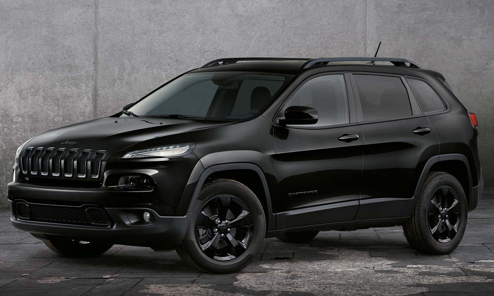jeep modelle jahrgang 2017 modelljahr modelljahr-2017 4x4 offroad suv geländewagen neuheit neuheiten version modellpalette premium jeep-cherokee-night-eagle