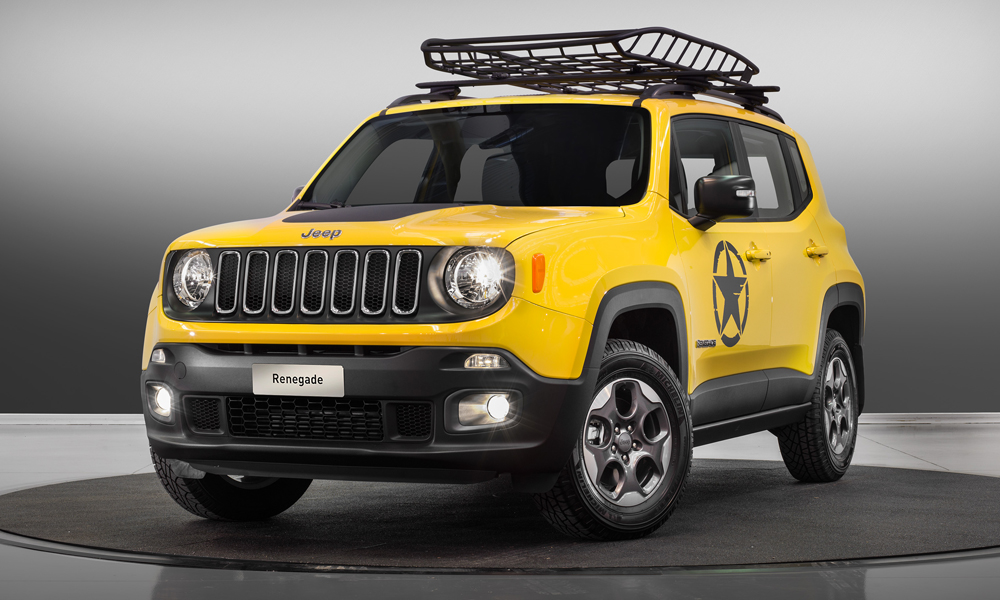 jeep modelle jahrgang 2017 modelljahr modelljahr-2017 4x4 offroad suv geländewagen neuheit neuheiten version modellpalette premium jeep-renegade