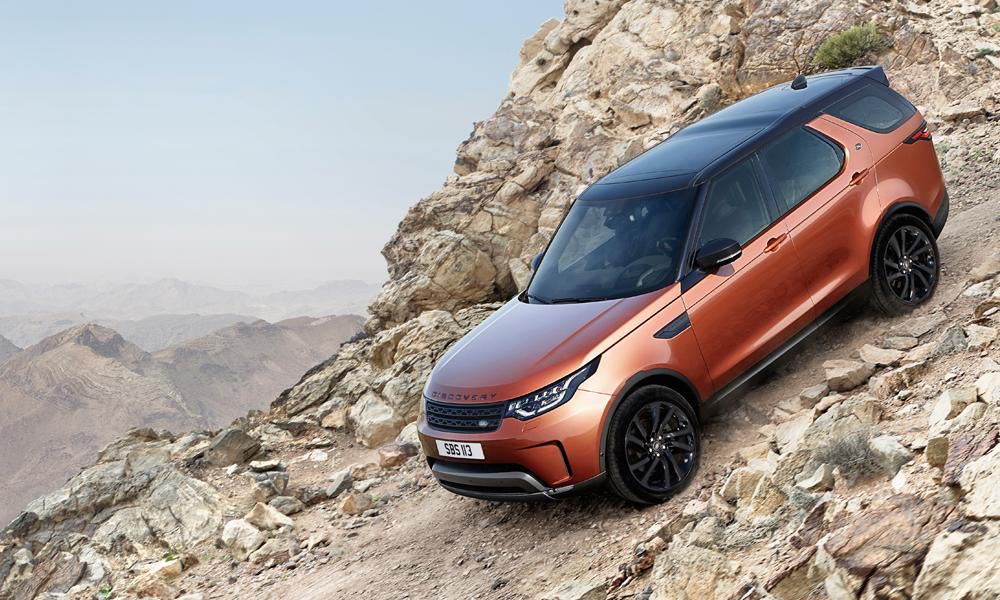 land rover discovery suv geländewagen 4x4 neue modelle technik gewicht leistung limitiert