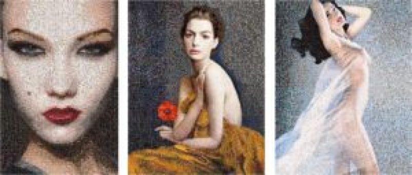 Die Schöne © Anna Halm Schudel, Anna © Anna Halm Schudel und Grace © Anna Halm Schudel, www.lumas.com