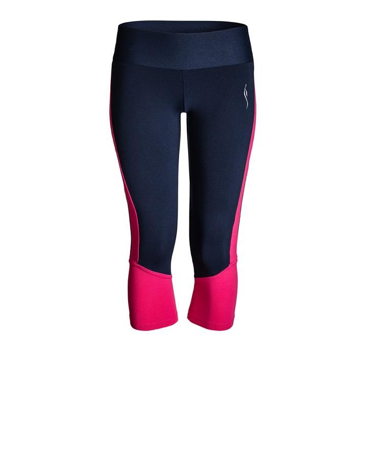 Leggings kurz navy/pink © Iracema Scharf