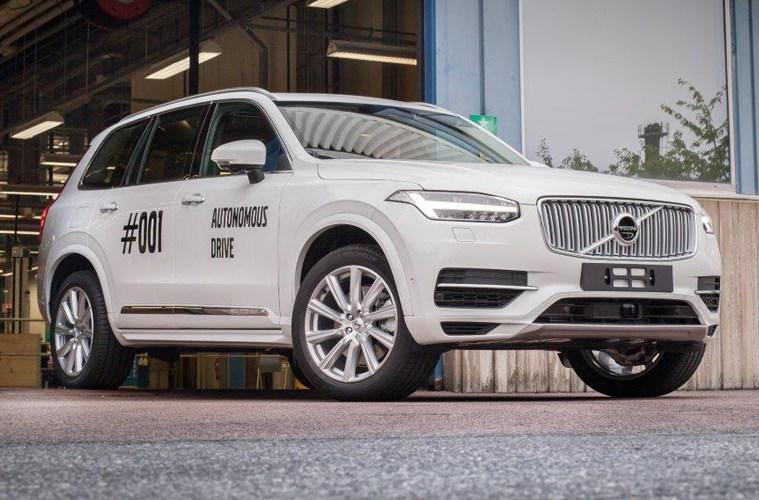 volvo fahrzeuge erfindung system autonomes fahren autonom